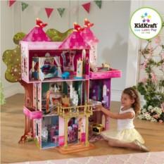 Замок-дом для кукол Winx и Ever After High Книга Сказок