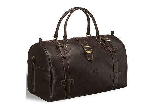 Дорожная коричневая сумка Brialdi Nebraska