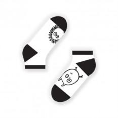 Носки Short Cranky (цвет — белый)