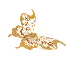 Декоративное украшение Бабочка (19см)