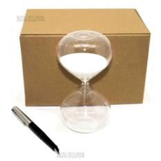 Песочные часы на 10 минут с белым песком