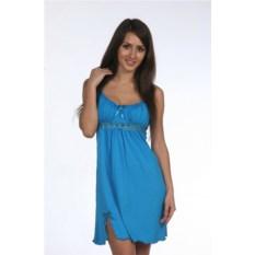Ночная сорочка Ассоль (цвет: бирюза)
