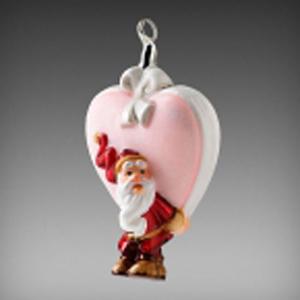 Санта и сердце
