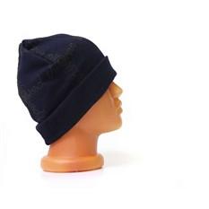 Темно-синяя шапка с лого Westwood