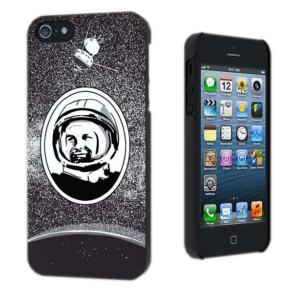 Чехол  для iPhone 4 Гагарин