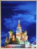 Картина Swarovski Собор Василия Блаженного