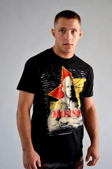 Черная футболка Джефф Монсон