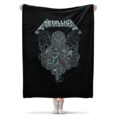 Флисовый плед 130х170 см Metallica
