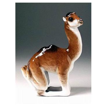 Анималистическая скульптура «Верблюжонок»