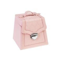 Розовая шкатулка для ювелирных украшений Гламур