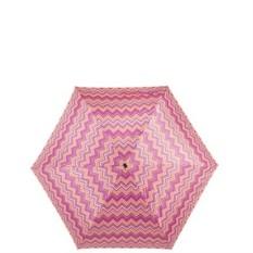 Розовый полуавтоматический зонт Labbra