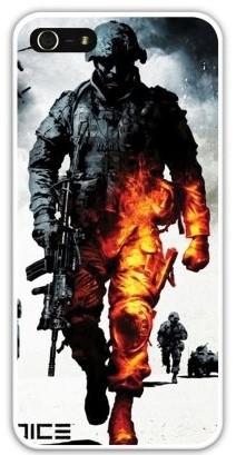 Чехол-накладка для iphone 5/5S, солдат