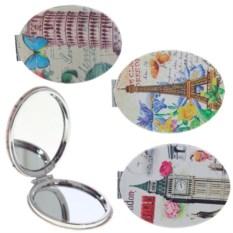 Круглое карманное зеркало