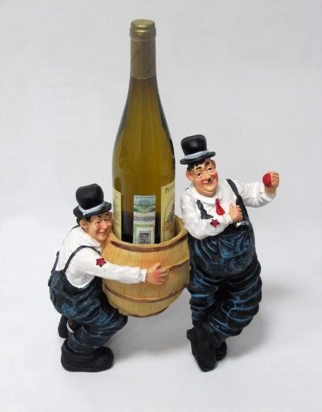 Подставка для бутылки 2 пьяницы и 1 бутылка