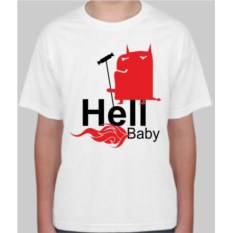 Детская футболка Hell baby