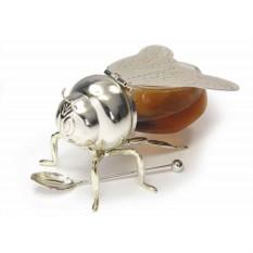 Банка для мёда с ложкой «Пчелка»