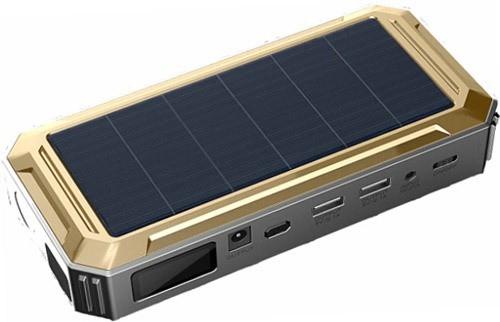 Портативное пуско-зарядное устройство JumpStarter Solar