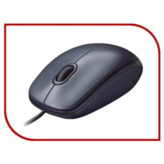 Проводная компьютерная мышь Logitech M90 Black EER2