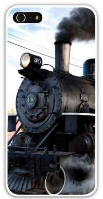 Чехол-накладка для iphone 5/5S, паровоз