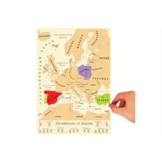 Карта «галопом по Европам»