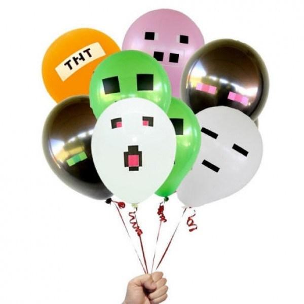 Воздушные шары Minecraft