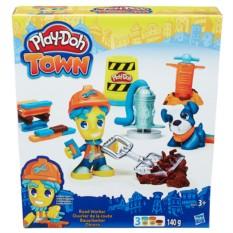 Игровой набор с пластилином Play-Doh Житель и питомец