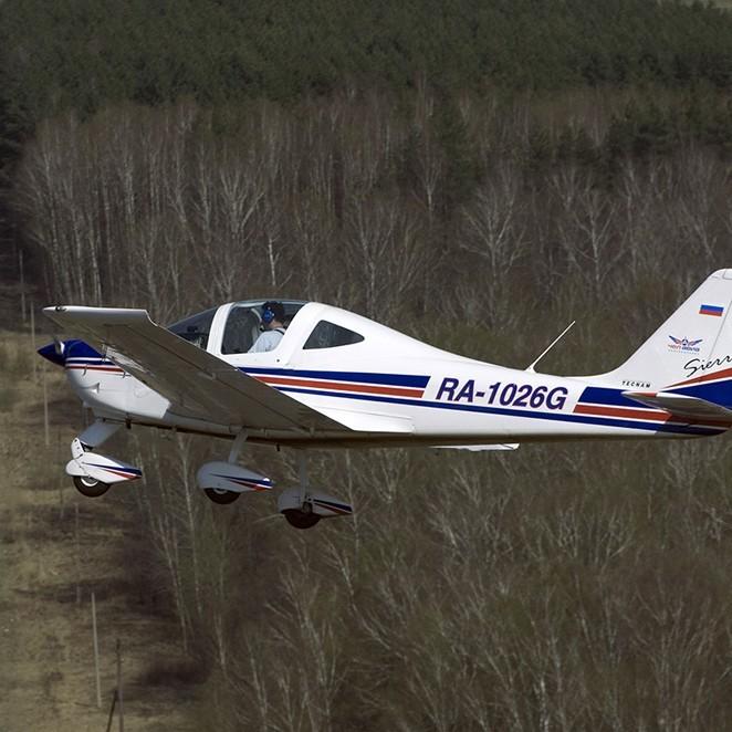 Полет на самолете Tecnam Sierra или P92 Echo Super (20 минут)