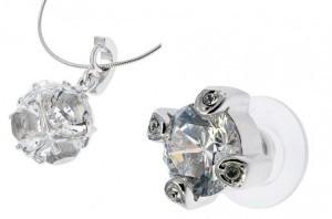 Свадебный комплект с кристаллами сваровски Принцесса