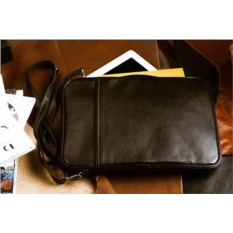 Кожаная сумка через плечо Brialdi Matelica (цвет — черный)