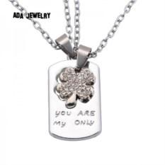Кулон для двоих «Ты мой единственный»