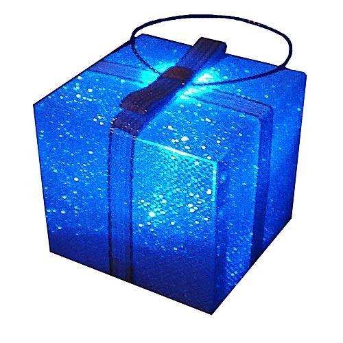 Елочное украшение Светящийся подарок