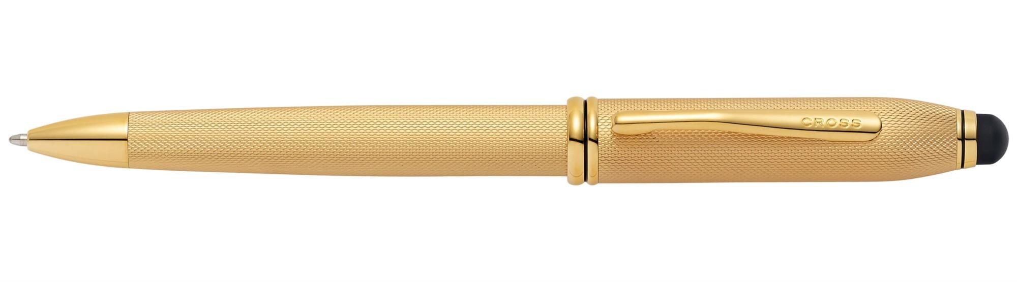 Шариковая ручка со стилусом Townsend Engraved Stylus