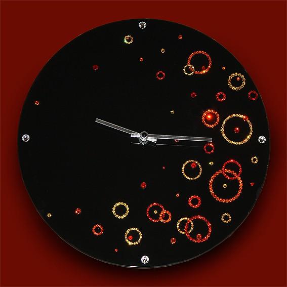Часы с кристаллами Swarovski Воздушное пространство