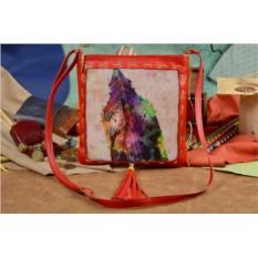Женская сумка-планшет с принтом Акварельный Биг-Бэн
