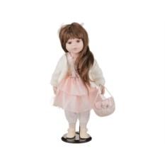 Фарфоровая кукла Оксана с мягконабивным туловищем