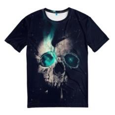 Мужская футболка Skull eyes