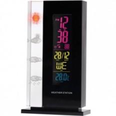 Погодная станция с часами, датой, термометром и подсветкой
