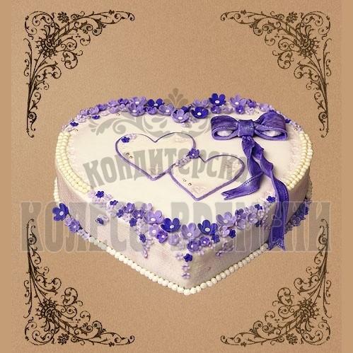 Торт «Нежное сердце»
