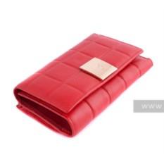 Красный женский кошелек Chanel