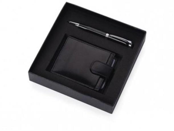 Подарочный набор из визитницы и ручки