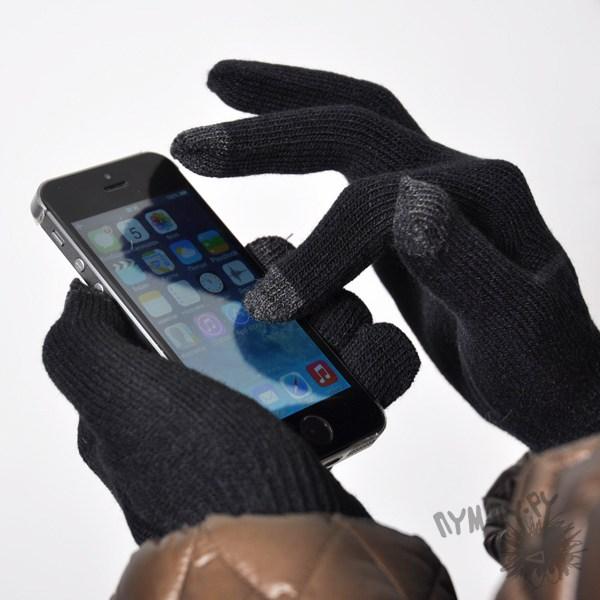 Перчатки сенсорные (черные)