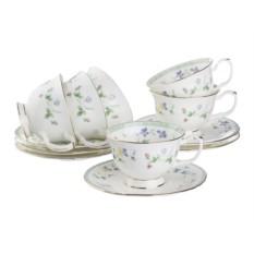 Чайный набор на 6 персон, 12 предметов