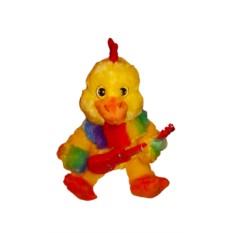Поющая и танцующая игрушка Петух с гитарой