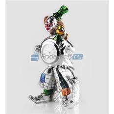 Часы Клоун, серебро
