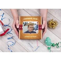 Фотонабор конфет ручной работы «Любимому мужу»