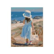 Картины по номерам «Дорога к морю»