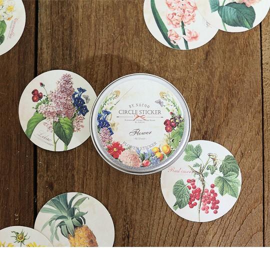 Декоративные наклейки Flower