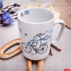 Кружка Кроль на велосипеде. Счастье в мелочах