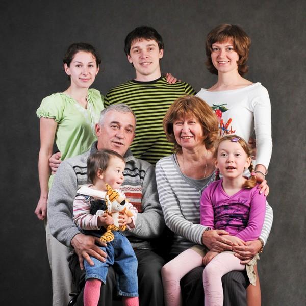 Подарочный сертификат: Семейная фотосессия