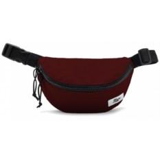 Бордовая поясная сумка Якорь. Барка